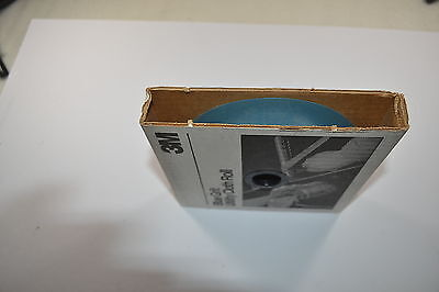 """New 3M 500 Grit BLUE Knife Makers  Utility Cloth Shop Roll 1""""x50 Yds (WR.13b.A.7 3"""