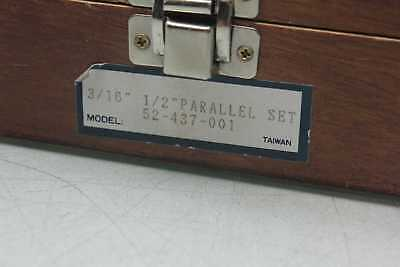 """Fowler 52-437-001 Parallel Set 3/16"""" to 1/2"""" 2"""