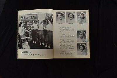 1954 Pink Cross Conemaugh Valley School of Nursing Johnstown PA Signed Yearbook 3