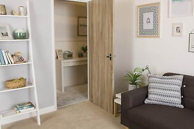 7€/m² d-c-fix Selbstklebende Tür Folie Klebefolie Möbelfolie Holz 90cm x 210cm 3