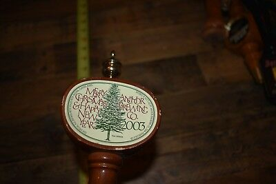 Anchor Brewing Co Merry Christmas Happy New Year 2003 Beer Tap Pour Handle