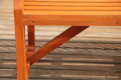 WestWood Garden Bench 3 Seater Chair Wood Patio Deck Patio Park Outdoor WGB02 6