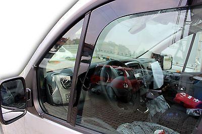 J/&J AUTOMOTIVE DEFLETTORI ARIA ANTITURBO Renault Trafic 2 porte 2014-ad oggi 2 pezzi