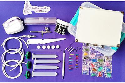 Cake Deco Pen | 2in1 Cake Decorating Kit Machine | AirBrush + Deco Pen Kit 2
