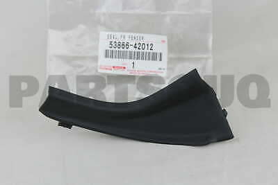 LH 53867-42012 FRONT FENDER TO COWL SIDE 5386742012 Genuine Toyota SEAL