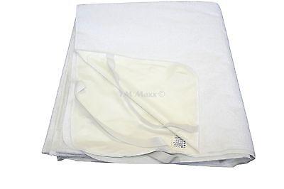 Matratzenschoner Matratzenauflage Wasserdicht 13 diverse Größen Baumwolle - PU 7