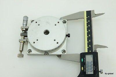 KOHZU Used RM07A-C1 Used Rotary Manual Stage 70x70x25 ±3degree STA-I-285=5F51