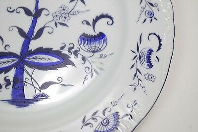 "House of Prill Porcelain - blue onion pattern - lot of 2 10 1/4"" dinner plates 4"