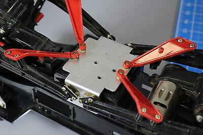 Aluminum Center Chassis Plate Brace Bracket for Tamiya 1//10 Bullhead Clodbuster