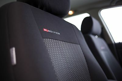 Volkswagen Polo Grau Universal Sitzbezüge Sitzbezug Auto Schonbezüge Elegance P3