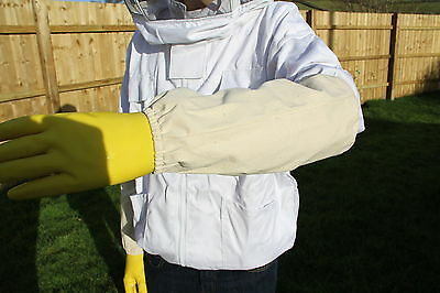Beekeepers Wrist and Arm Protector - Beekeeping Sleeves -  Bee keepers Gauntlets 2