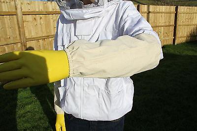 Beekeepers Wrist and Arm Protector - Beekeeping Sleeves -  Bee keepers Gauntlets 2