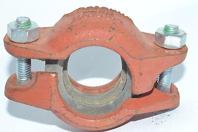 NEW VICTAULIC 009N 1-1/4'' 42 4mm Firelock Rigid Coupling Pipe Fitting