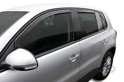 2 Deflettori Aria Antiturbo VW TIGUAN 2016 in poi 5 porte