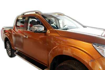 Nissan Leaf mk2 5 portes berline 2017-up 4 pieces Vent Déflecteurs HEKO teinté NEUF