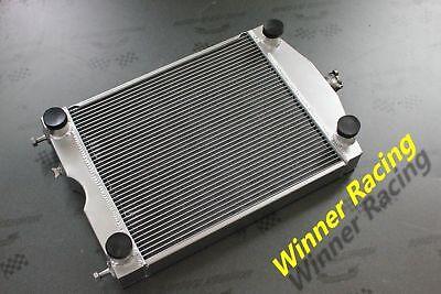 Ford 2N/8N/9N tractor w/flathead V8 engine Up to 1000HP Aluminum radiator 70MM 3