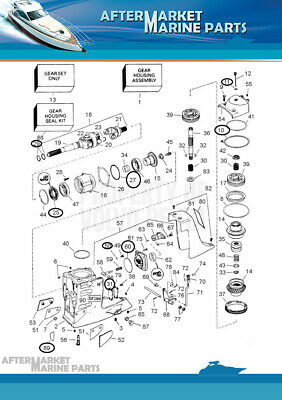 Upper unit seal kit for SX-C SX-R SX-M DP-S DP-SM RO 3850594 18-2586