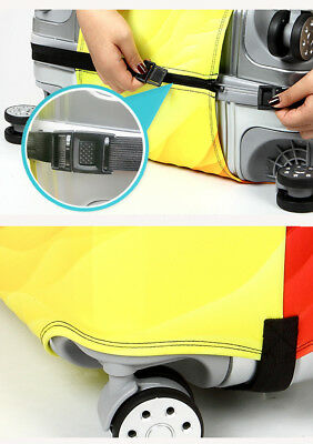 """Elastic Thick Suitcase Protective Cover Luggage Case Cover 18""""-32"""" Anti Scratch 9"""