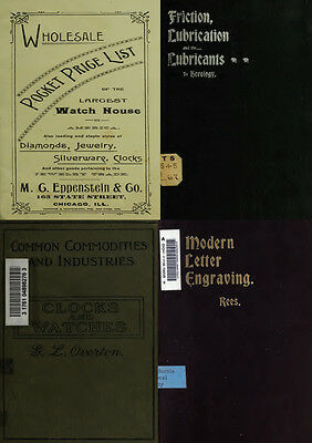 125 Rare Books On Horology, Pocket Watch, Clock, Sundial, Repair & More-Vol1 Dvd 8
