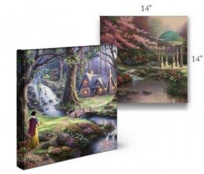 Thomas Kinkade Studios Disneys Pocahontas 14 x 14 Wrapped Canvas
