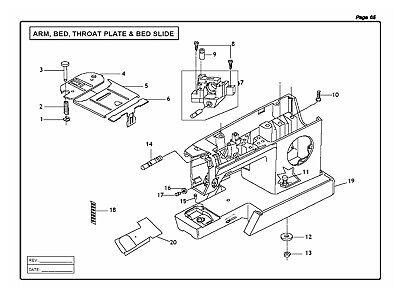 WORKBOOK /& Parts list on CD SINGER CG-590 Commercial Grade INSTRUCTION Manual