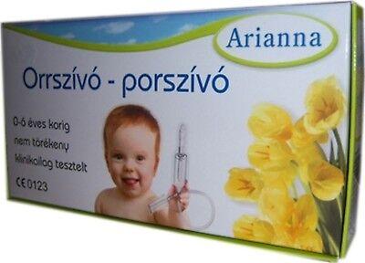 Baby Vac ARIANNA Nasal Nose Vacuum Cleaner Orrszivo porszivo Aspirator Orrszívó 2