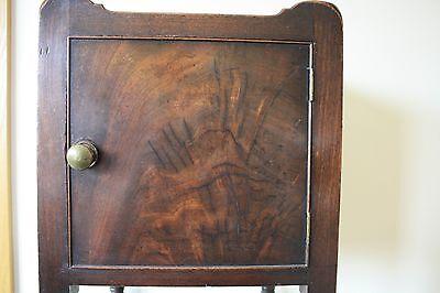 ANTIQUE Scottish Victorian Bedside Table 6