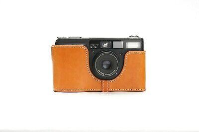 Genuine Real Leather Half Camera Case Bag Cover for Ricoh GR1V Film Camera 6