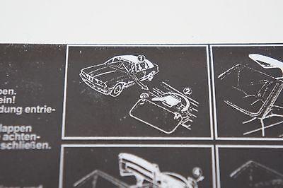 BMW E30  Convertible Decal