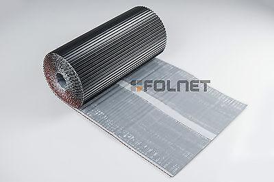 vollflächige Butylschicht und Anschlussband 4x Kamin anthrazit 3Dflex Alu TOP