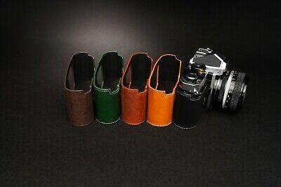 Genuine Real Leather Half Camera Case Bag Cover for Nikon FM2 FM FM2n FE FE2 11
