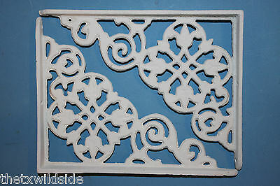 (2),dutch Decor,antique Look,corbels, Shelf Brackets, Country Decor,white, B-30 4