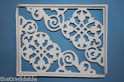 (2),dutch Decor,antique Look,corbels, Shelf Brackets, Country Decor,white, B-30 4
