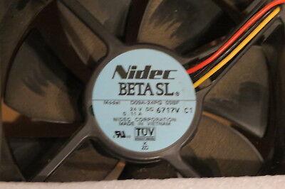 Nidec BETA SL Model D08A-24TU 11B 24V DC 0.10AMP
