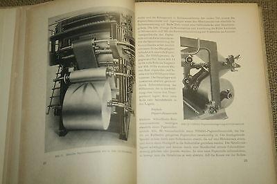 Fachbuch Rotationsdruck, Buchdruck, Druckerei, Drucktechnik, DDR 1952 4