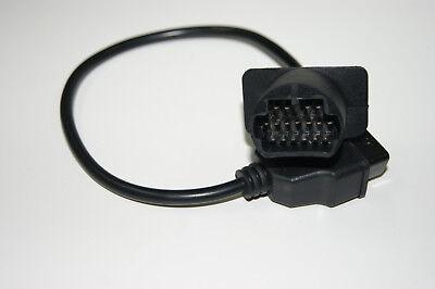 Mazda 17 Pin Diagnose Adapter Kabel OBD1 OBD2 Stecker E2