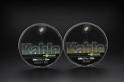 Korda NEW Dark Matter Tungsten Tubing, Putty & Kable Leadcore *Full Range*