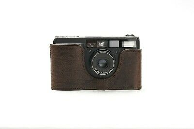 Genuine Real Leather Half Camera Case Bag Cover for Ricoh GR1V Film Camera 3
