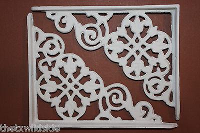 (6),dutch Decor,antique Look,corbels, Shelf Brackets, Country Decor,white, B-30 2