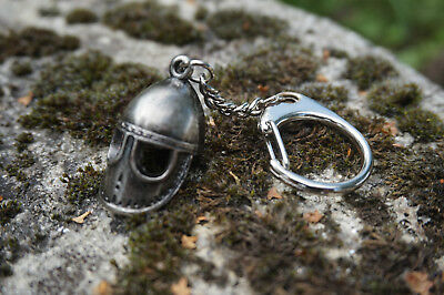 84d67249b2df 1 sur 3 Hf0755 Porte Cle Heaume Casque Vicking Medieval Moyen Age Neuf ...