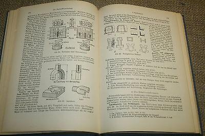 Fachbuch Gießerei, Schmieden, Pressen, Walzwerk, Schmiede, Maschinenbau, 1931 2
