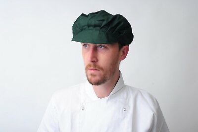 Baker Caps Black White Catering Hats for Chef Bouffant CAP in many colours 3