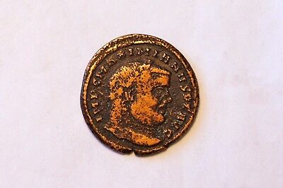 Maximian was Roman Emperor from 286 to 305 AD Copper Coin. 3