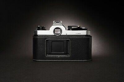 Genuine Real Leather Half Camera Case Bag Cover for Nikon FM2 FM FM2n FE FE2 6