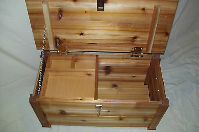 1 Of 7FREE Shipping Cedar Hope Treasure Chest Toy Box Storage Trunk Great  Size 4 American Girl Doll