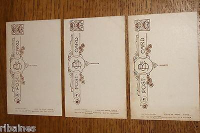 Vintage Postcard: 3 Bamforth Song Cards No.5015, 'Lead, Kindly Light', WW1 2