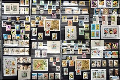 WORLDWIDE stamp collection MNH (30 countries)  + FULL SETS + ALL DIFFERENT 6