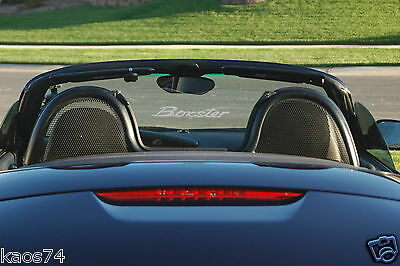 PORSCHE BOXSTER BOXSTER S 986 987 981 Windscreen Etched Glass Decal