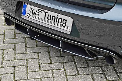Racing Heckansatz Heckeinsatz Diffusor aus ABS für VW Golf 6 GTI + Edition 35