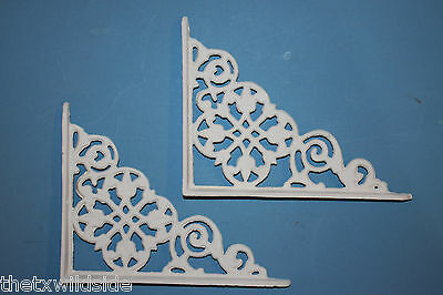 (4),dutch Decor,antique Look,corbels, Shelf Brackets, Country Decor,white, B-30 5